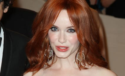 Christina Hendricks Insists: My Boobs are Real!