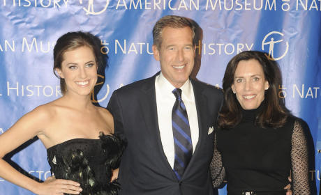 Brian Williams, Allison Williams Photo