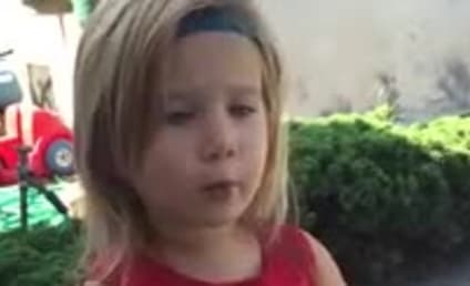 Exasperated Toddler Explains Wedding Etiquette to Father