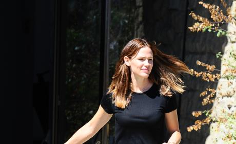Jennifer Garner With Son