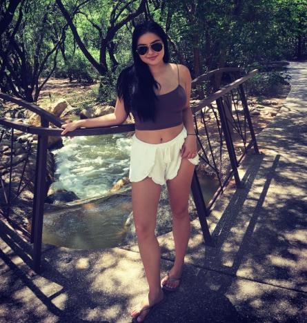 Ariel Winter Covers Up