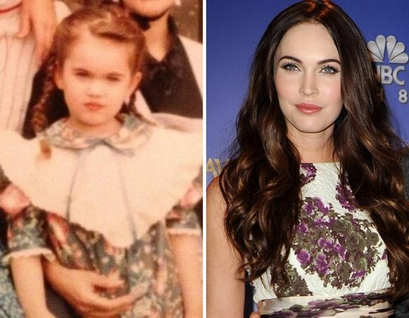 Megan Fox as a Kid