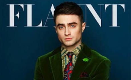 Daniel Radcliffe Flaunt Cover
