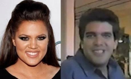 Alex Roldan and Khloe Kardashian