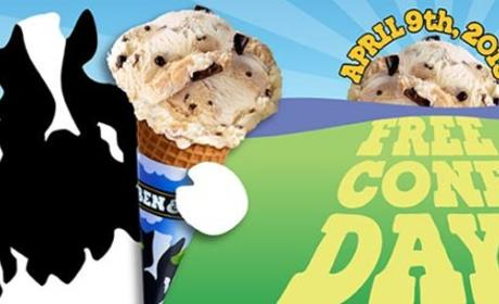 Free Cone Day at Ben & Jerry's: GO! GO! GO!