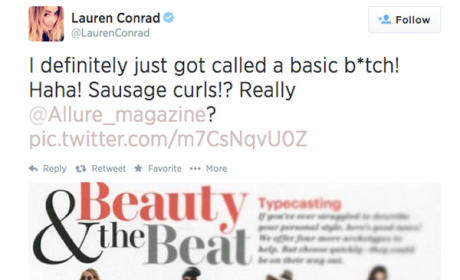 "Lauren Conrad: Allure Called Me ""Basic B!tch"" With Sausage Curls!"