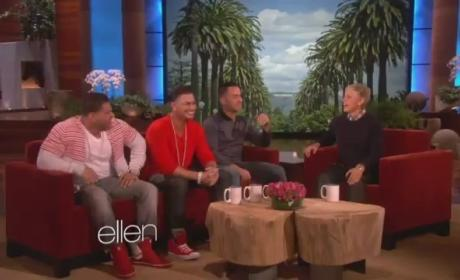 Jersey Shore Cast on Ellen