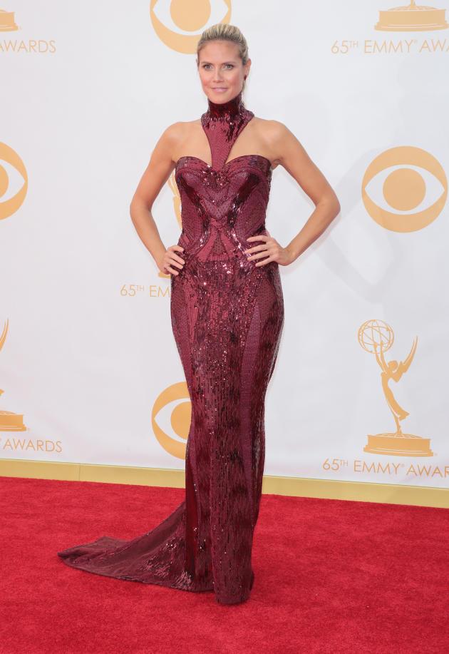 Heidi Klum at 2013 Emmys