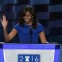 Michelle Obama at the Democratic Convention