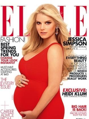 Jessica Simpson Elle Cover