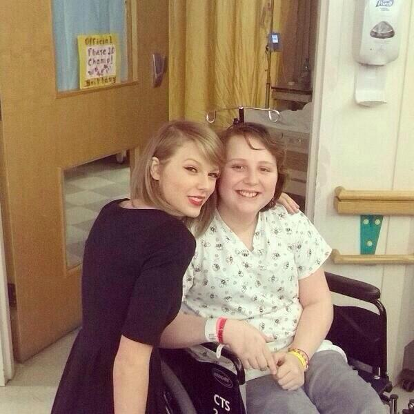 Taylor Swift and a Cancer Patient