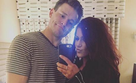 Cole DeBoer and Chelsea Houska Selfie