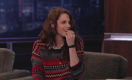 Kristen Stewart on Jimmy Kimmel Live (Part 2)