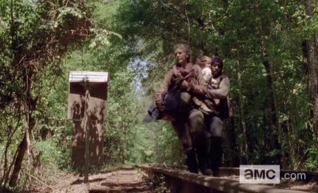 Baby Judith on The Walking Dead