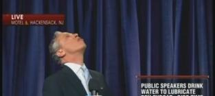 """Jon Stewart Cuts Hand, Bleeds, Keeps on Filming Anthony Weiner-Inspired """"Press Conference"""""""