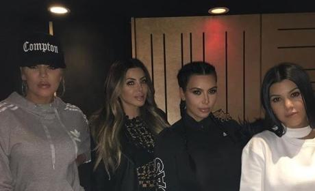 Kardashians in the Studio