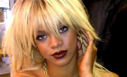 Rihanna: Topless! Blonde! Tweeting!