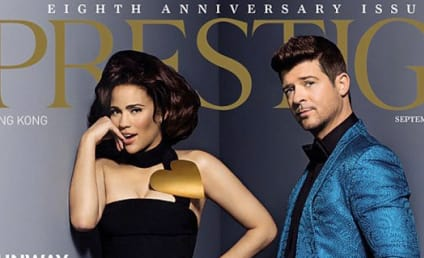 "Robin Thicke: Wife Paula Patton My ""Rock, Muse and Inspiration"""