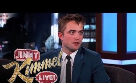 Robert Pattinson Appears on Jimmy Kimmel Live