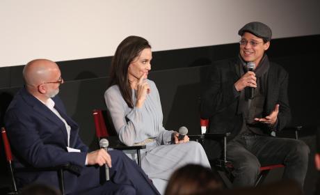 Angelina Jolie Brad Pitt By The Sea Screening