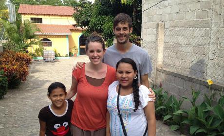Derick Dillard and Jill Duggar in El Salvador