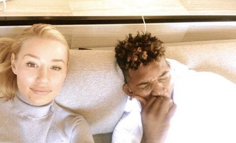 Iggy Azalea Denies Heroin, Track Marks Rumor: WHAT?! LOL!