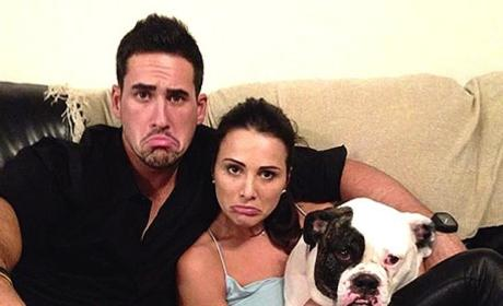 Andi Dorfman, Josh Murray Spoof Bachelorette Star's Signature Frown