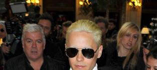 Jared Leto Goes Blonde