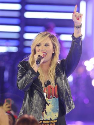 Demi Lovato Concert Photograph