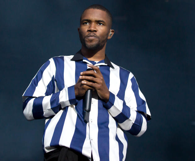 Frank Ocean on Stage