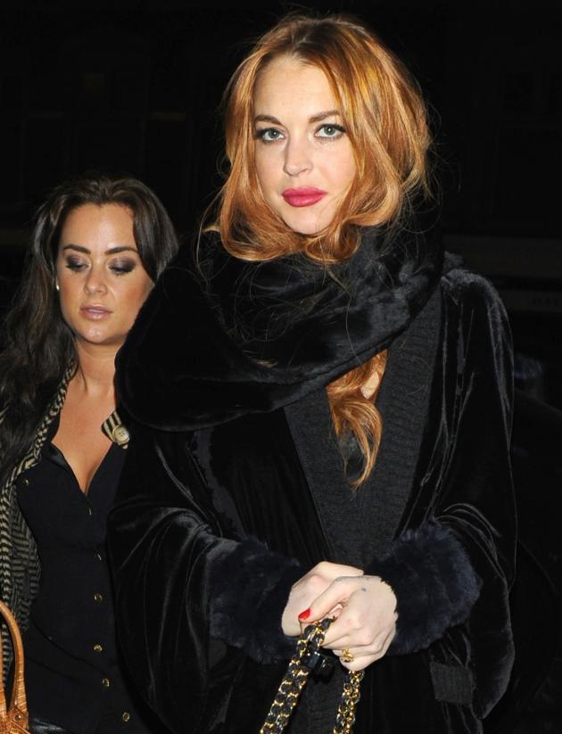 Lindsay Lohan Clubbin
