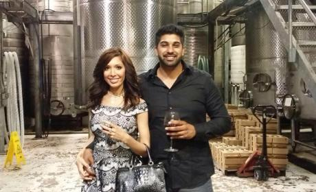 Farrah Abraham Spends Valentine's Day With Simon Saran, Somehow Hasn't Been Dumped Yet