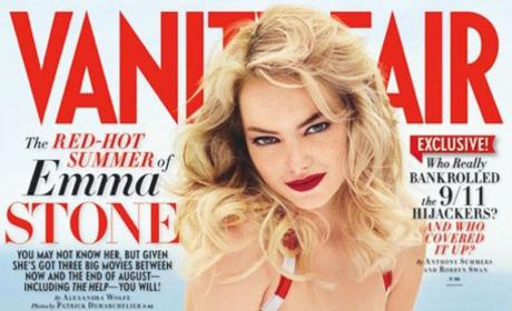 Emma Stone Covers Vanity Fair, Recalls Hayden Panettiere-Inspired Meltdown