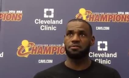 LeBron James to Donald Trump: That's Not Locker Room Talk, Bruh