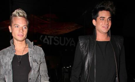Adam Lambert and Sauli Koskinen: Content at Katsuya