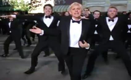 Ellen DeGeneres Dresses Up, Dances in 2014 Academy Awards Trailer