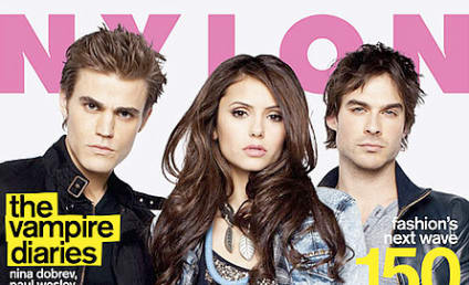 The Vampire Diaries Cast Covers Nylon