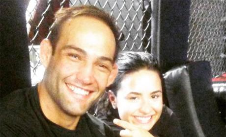 Guilherme Vasconcelos and Demi Lovato