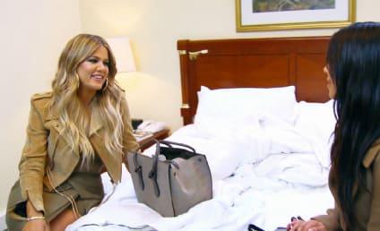 Kim Kardashian to Khloe Kardashian: I'm Pregnant!