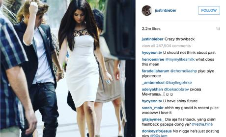 Justin Bieber Holds Hands with Selena Gomez in Latest Throwback Photo