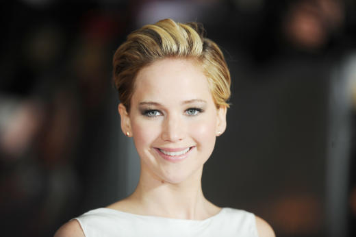 Jennifer Lawrence at Catching Fire Premiere