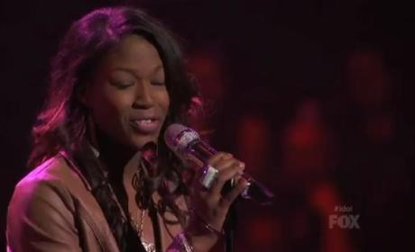Amber Holcomb Aims High on Idol, Covers Whitney Houston