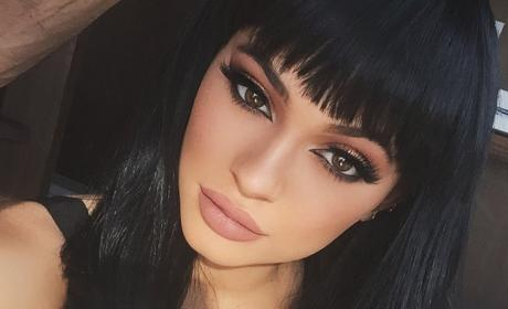 Kylie Jenner with Big Lips
