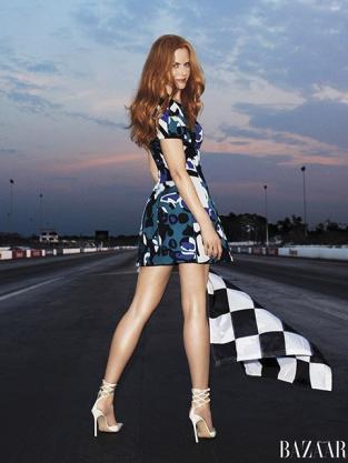 Nicole Kidman in Harper's Bazaar