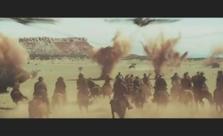 Cowboys & Aliens Movie Trailer: Harrison Ford! Daniel Craig! Olivia Wilde Nude!