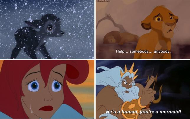 Depressing disney moments bambis mom dies