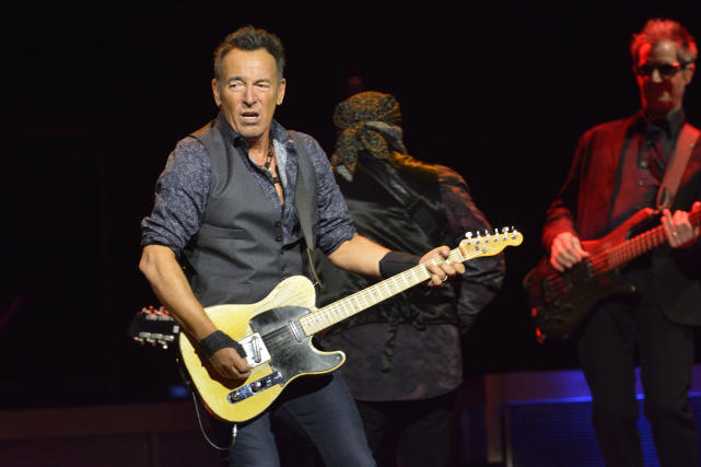 Bruce Springsteen and the E Street Band Perform in Toronto