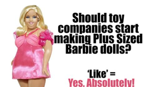 Plus-Size Barbie Photos Spark Body Image Debate, Criticism