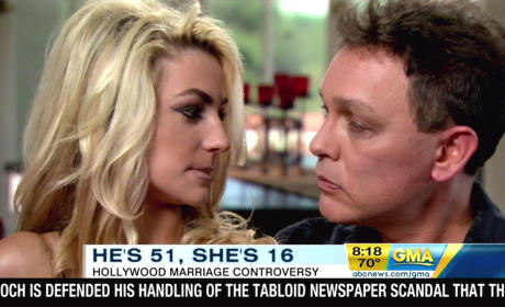 Doug Hutchison on Marriage to Courtney Stodden: God Connected Us!