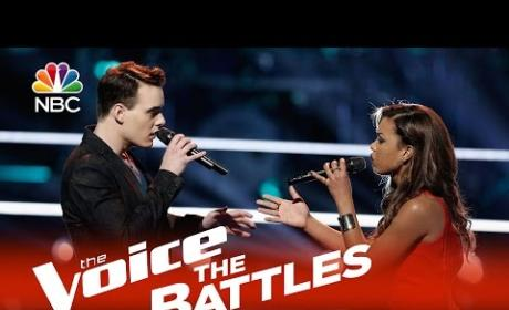 India Carney vs. Clinton Washington (The Voice Battle Round)